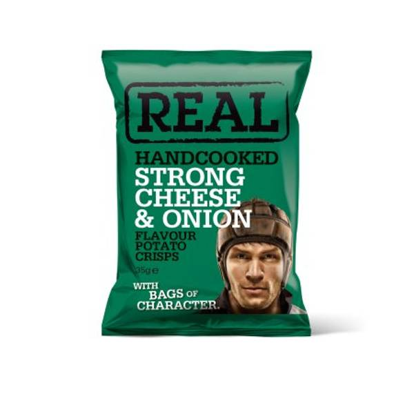 Real Crisps Cheese & Onion 35 g